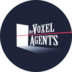 The Voxel Agents Logo