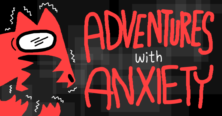 Adventures with Anxiety Title